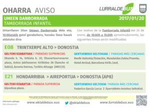 Donostia - A4 - Tamborrada infantil - E08_E21 - 20170120