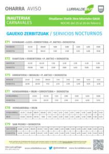 Carnavales nocturnos - E71_E72_E75_E77_E78_E79 - 20170225