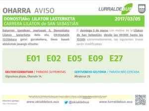 Donostia -Lilaton - E01_E02_E05_E09_E27 - 20170305