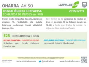 Irun - Comparsa Iñudes - E25 - 20170219
