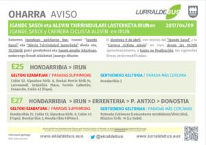 Irun - Carrera ciclista alevin + igande sasoi - E25_E27 - 20170326