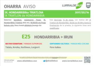 Hondarribia - Triatlon - e25 - 20170514