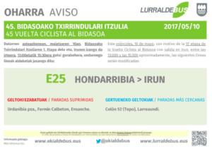 Vuelta Bidasoa - Irun - Suprimidas - e25_e27 - 2017_05_10
